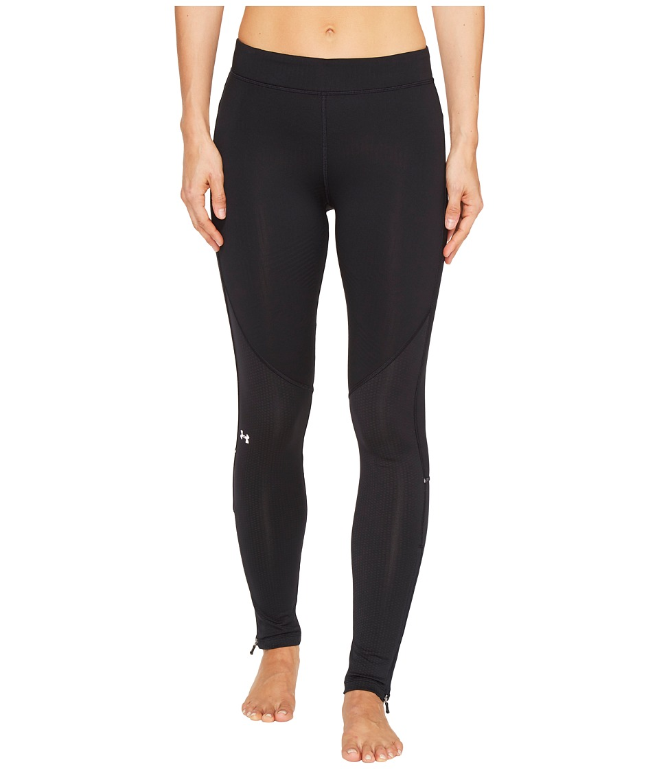 Under Armour - UA ColdGear Armour Elements Leggings (Black) Women's Casual Pants