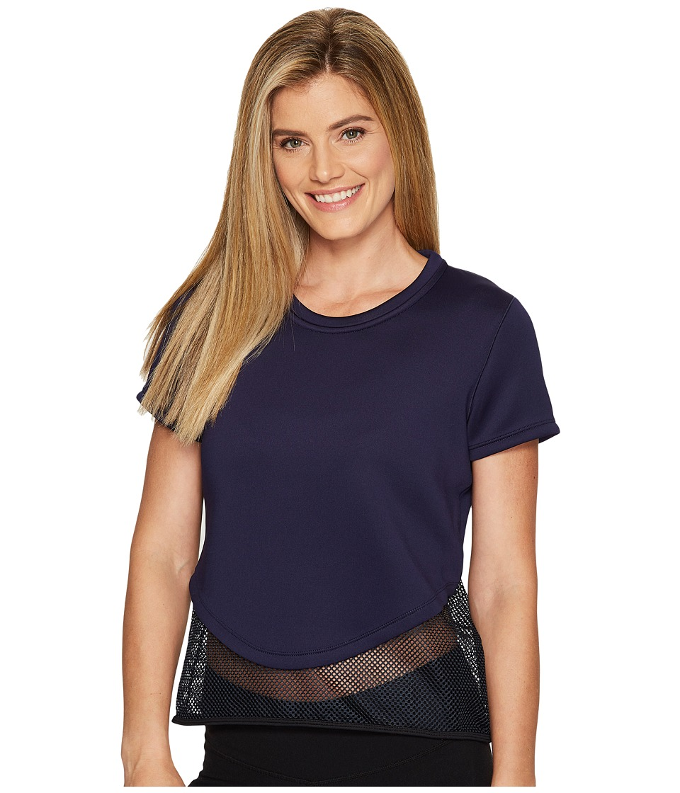 Under Armour - Show Stopper Tee (Midnight Navy) Women's Clothing