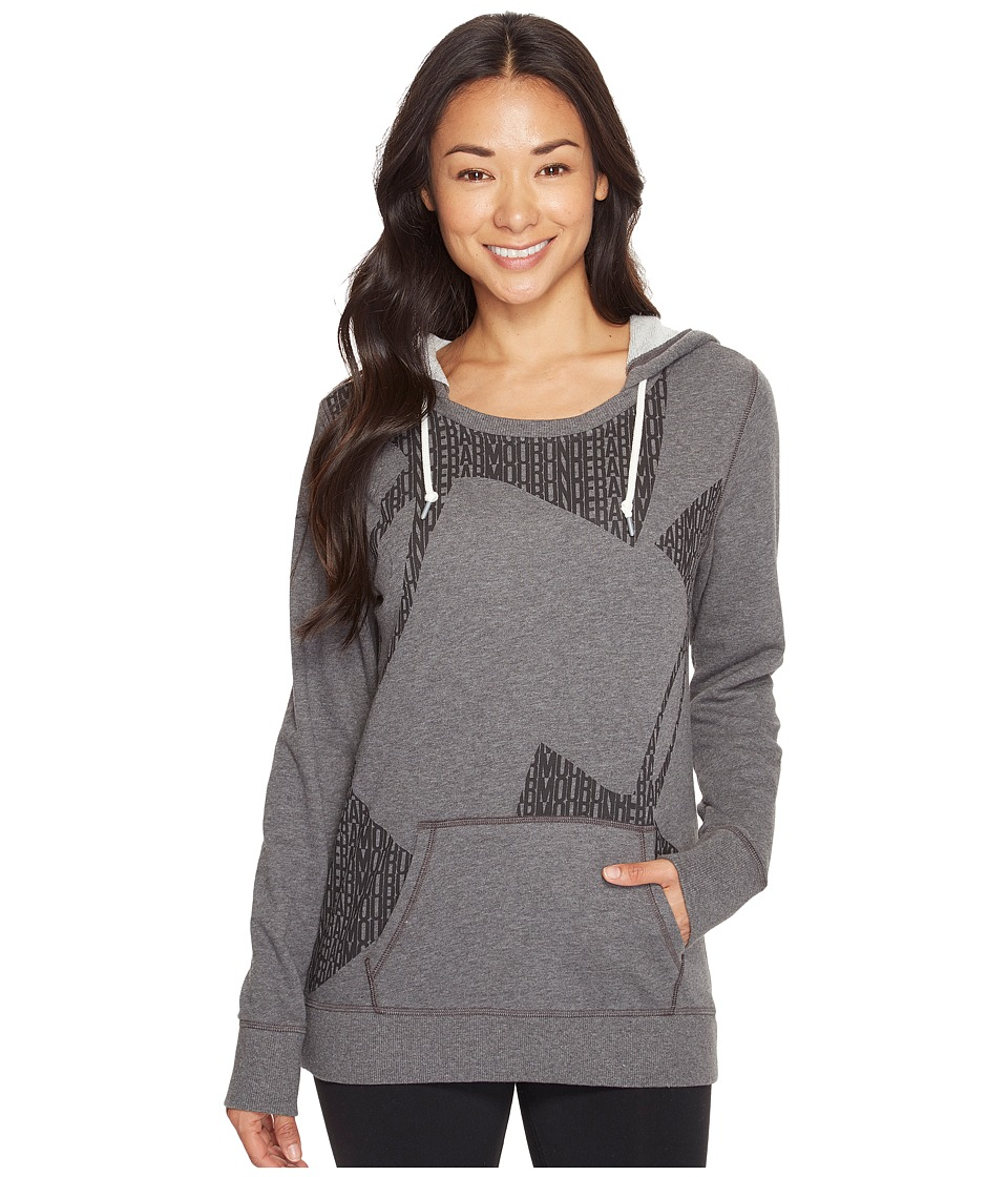 Under Armour - Favorite French Terry Popover (Carbon Heather) Women's Sweatshirt