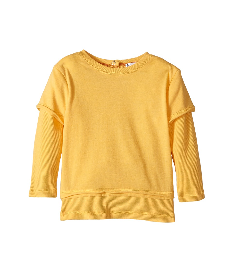 Splendid Littles - Seasonal Basic Twofer Top (Infant) (Yellow) Boy's Clothing