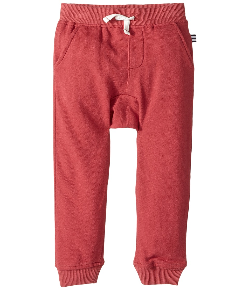Splendid Littles - Seasonal Basics Baby French Terry Jogger Pants (Infant) (Red) Boy's Casual Pants