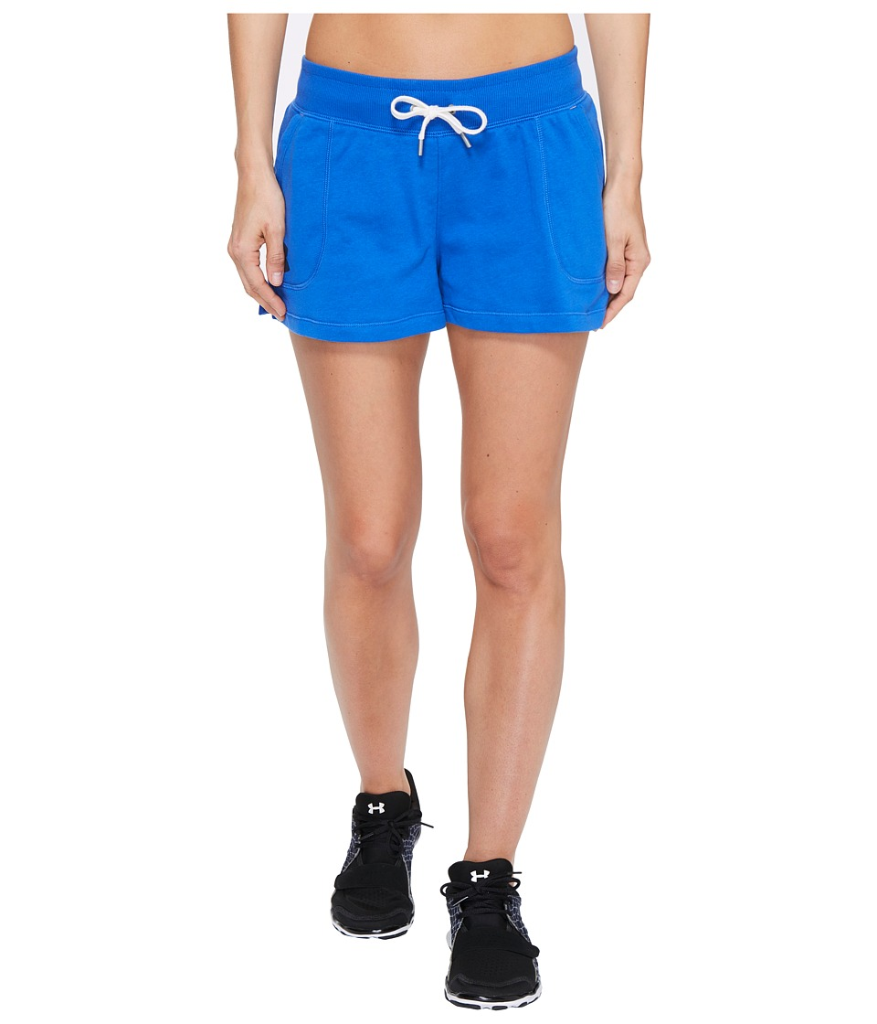 Under Armour - French Terry Shorty Shorts (Ultra Blue) Women's Shorts