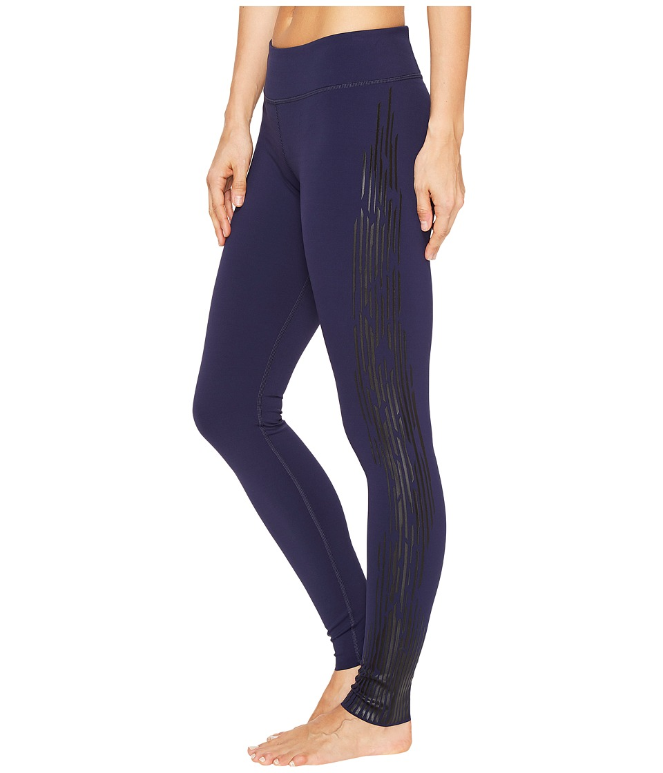 Under Armour - Show Stirrup Free Cut Print Leggings (Midnight Navy) Women's Casual Pants