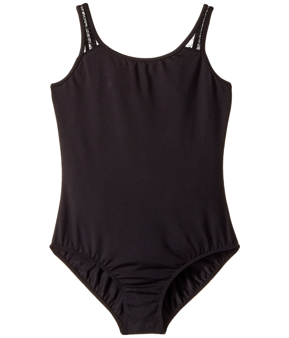 Bloch Kids - Glitter Bow Tank Top (Toddler/Little Kids/Big Kids) (Black) Girl's Sleeveless