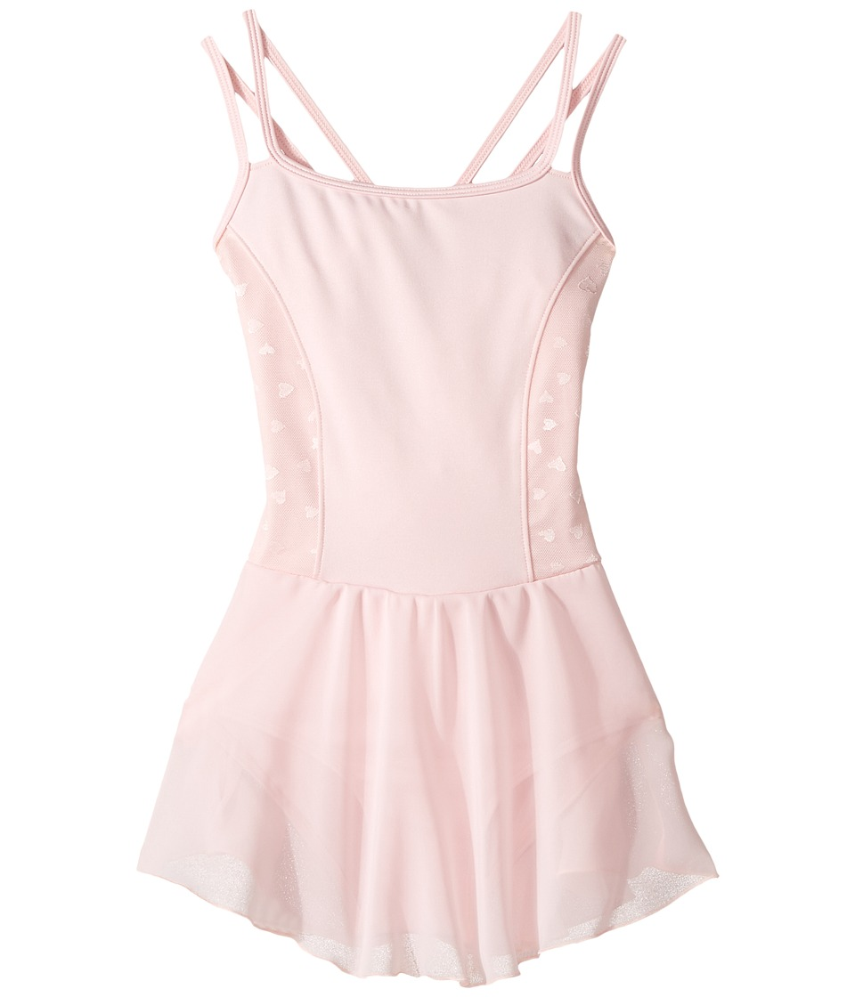 Bloch Kids - Hearts Dress (Toddler/Little Kids/Big Kids) (Candy Pink) Girl's Dress