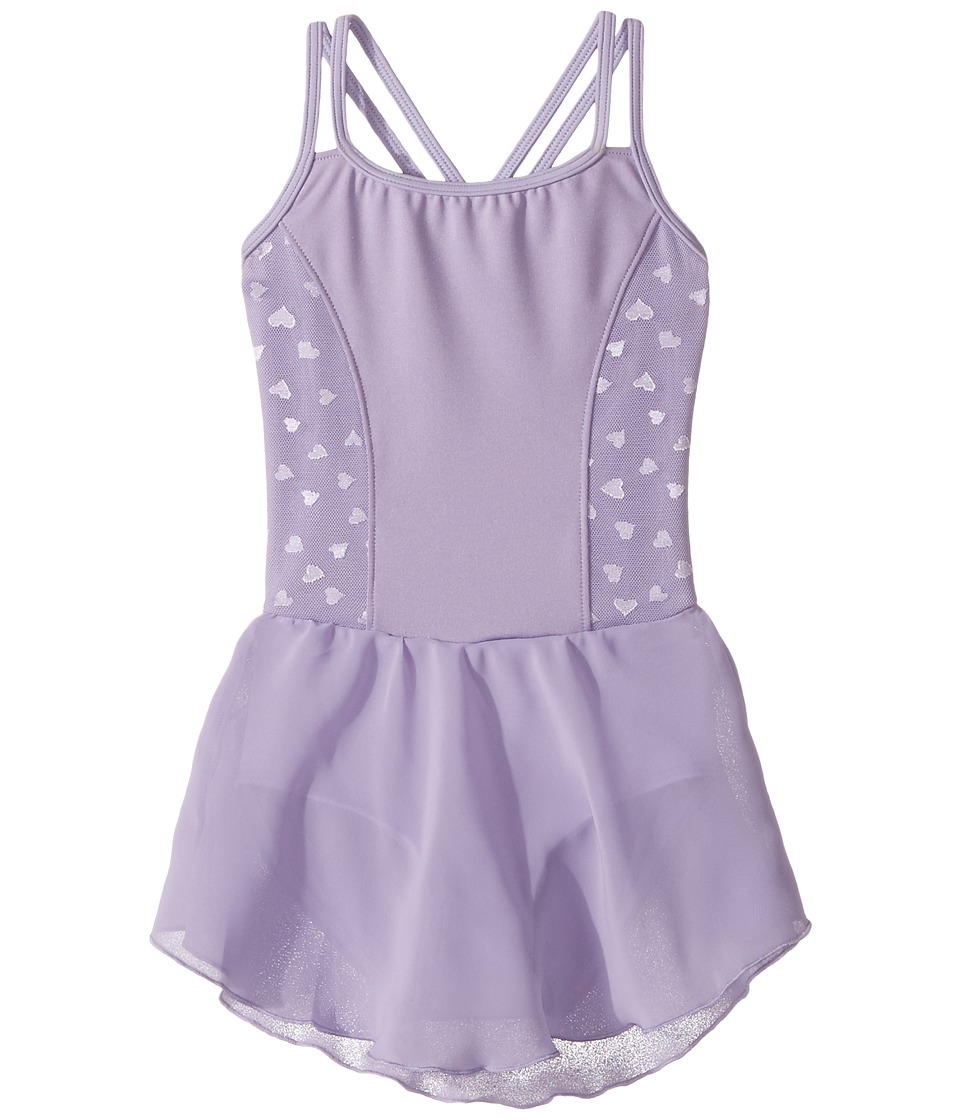 Bloch Kids - Hearts Dress (Toddler/Little Kids/Big Kids) (Lilac) Girl's Dress