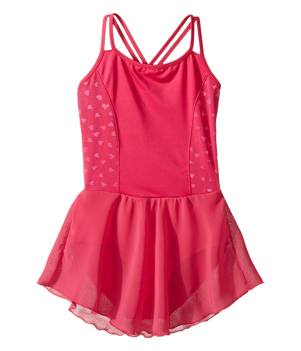 Bloch Kids - Hearts Dress (Toddler/Little Kids/Big Kids) (Hot Pink) Girl's Dress