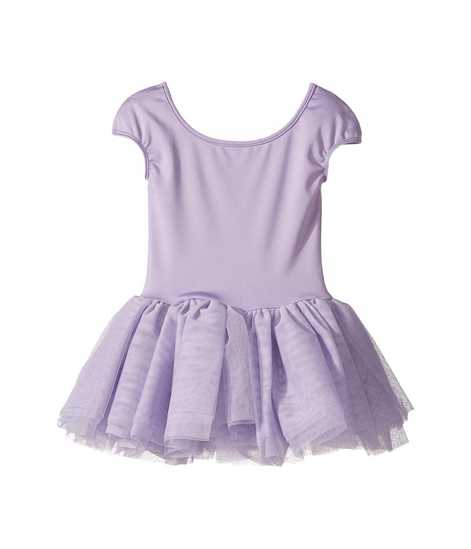 Bloch Kids - Hearts Tutu Dress (Toddler/Little Kids/Big Kids) (Lilac) Girl's Dress