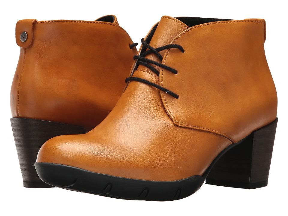 Wolky Bighorn (Curry Vegi Leather) Women