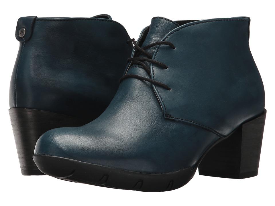 Wolky Bighorn (Blue Vegi Leather) Women