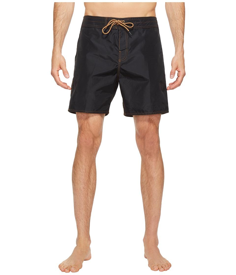 Brixton - Bering Trunks (Black/Copper) Men's Swimwear