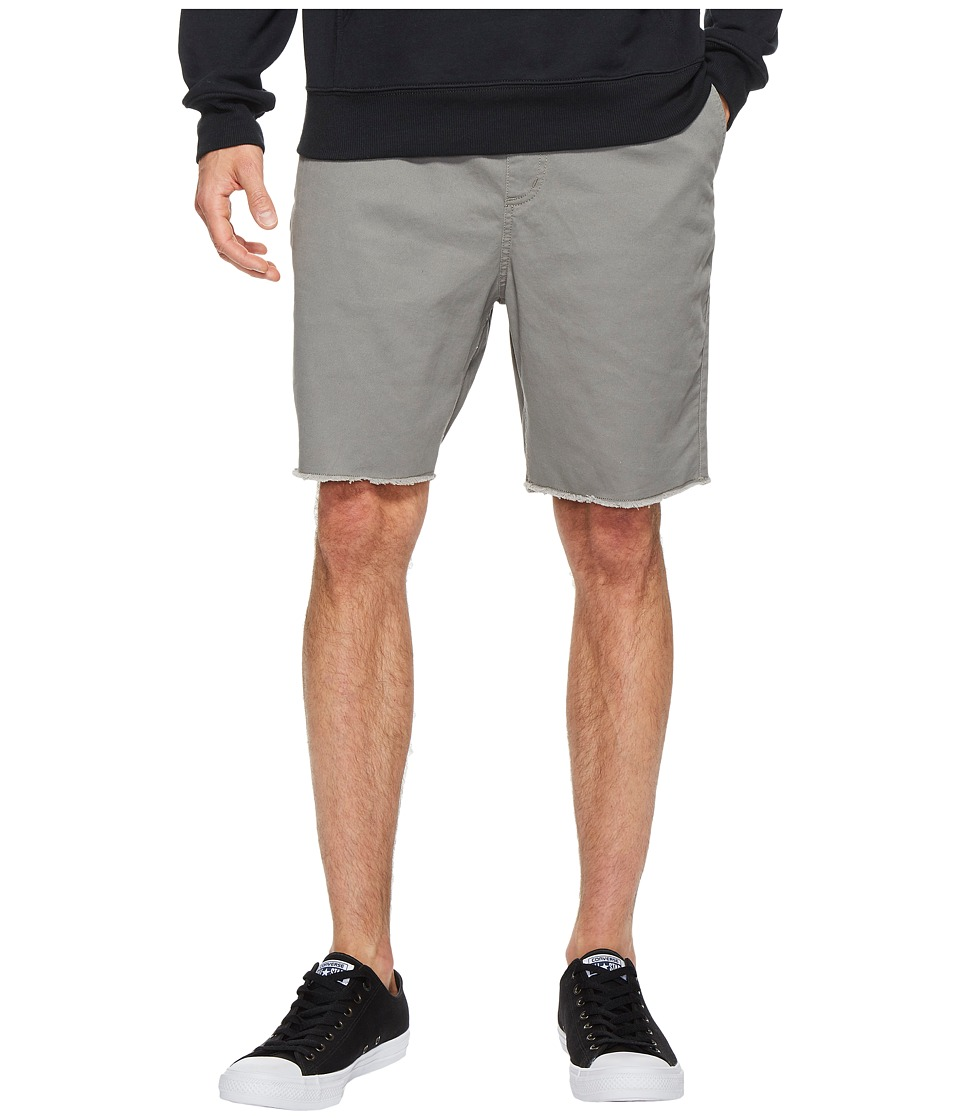 Brixton - Madrid Shorts (Grey) Men's Shorts