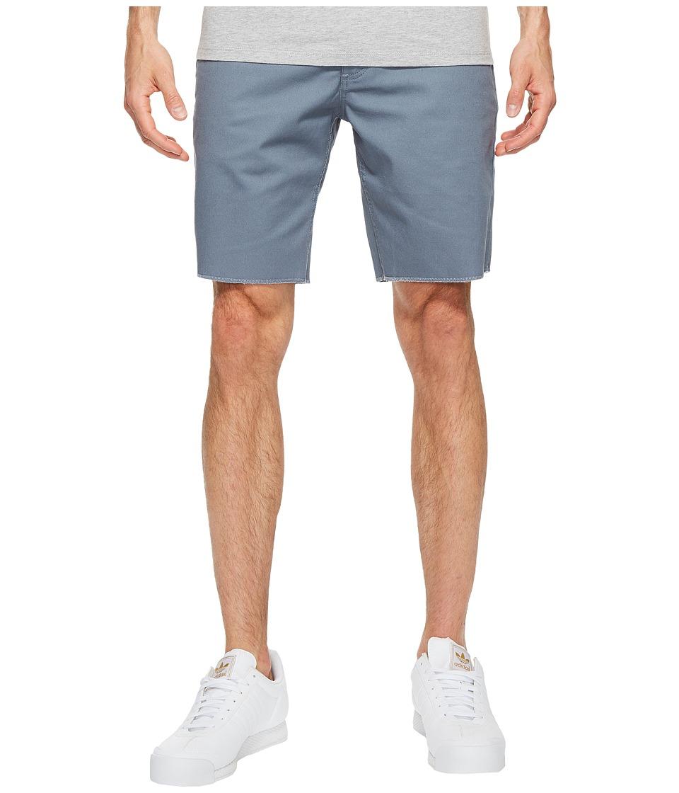 Brixton - Toil II Shorts (Grey Blue) Men's Shorts