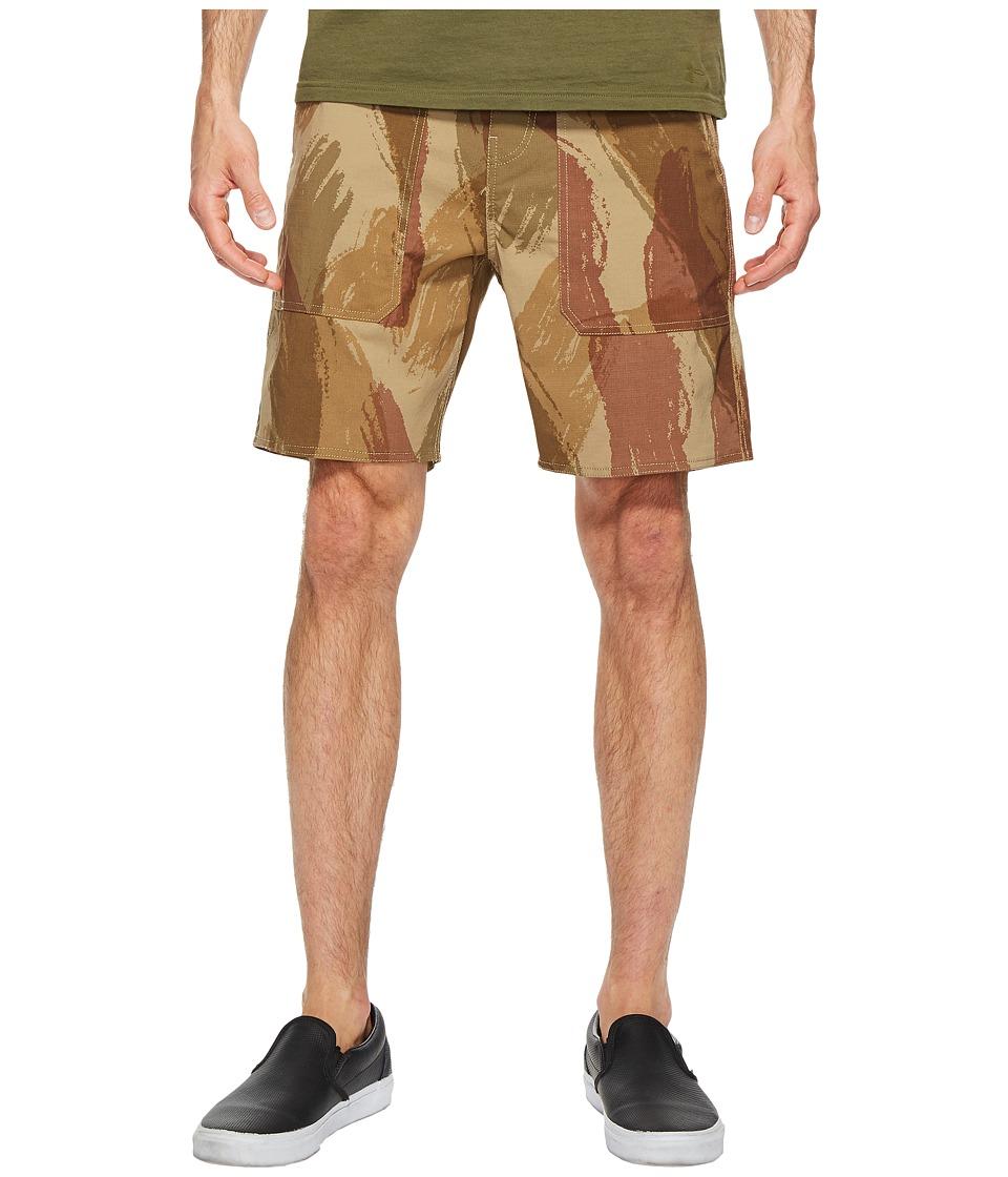 Brixton - Prospect Service Shorts (Camo) Men's Shorts