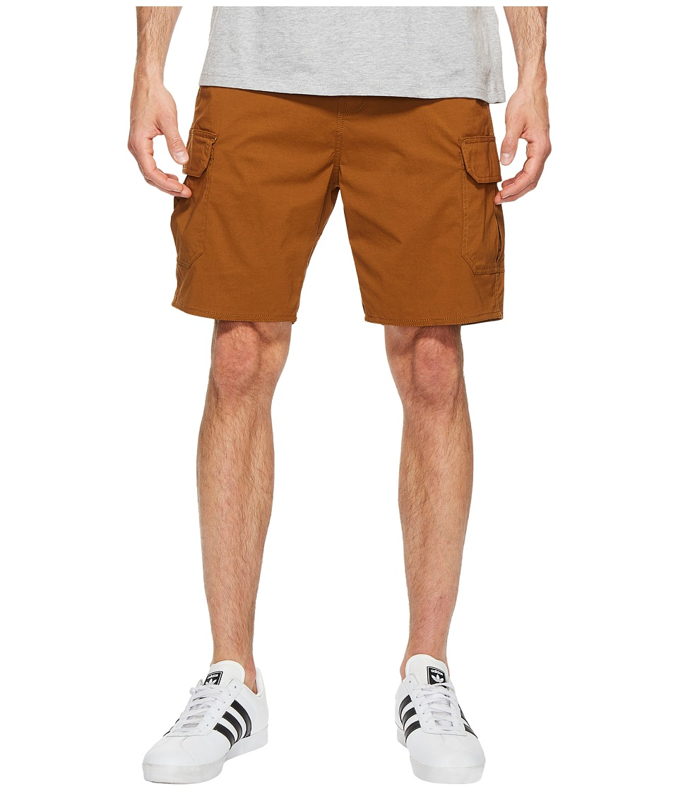 Brixton - Transport Cargo Shorts (Copper) Men's Shorts