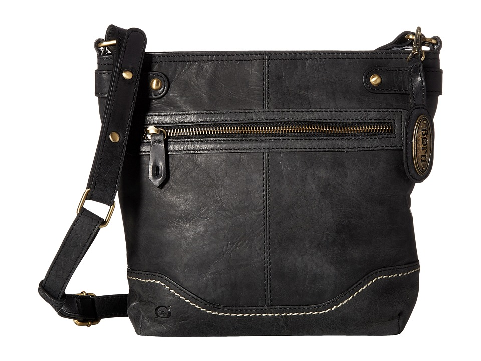 Born - Izabel Bucket Crossbody (Black) Cross Body Handbags
