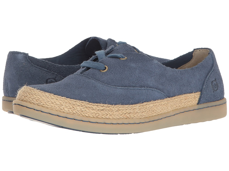 Born - Capela (Dark Blue Suede) Women's Shoes