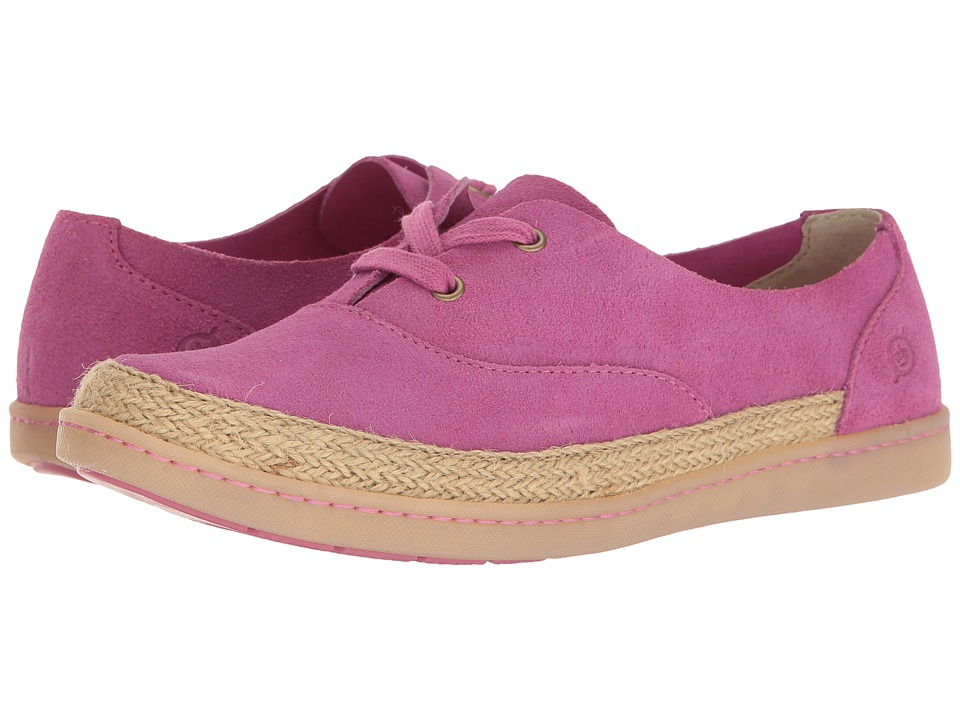 Born Capela (Dark Pink Suede) Women