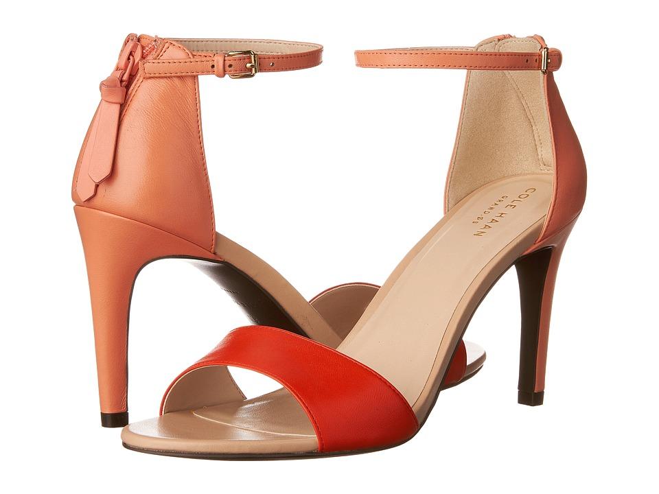 Cole Haan Clara Grand Sandal (Orange) Women