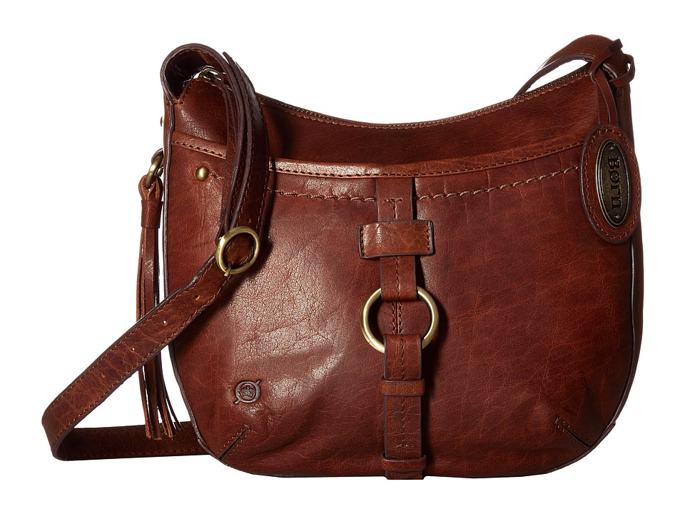Born - Bronco Leather Crossbody (Chestnut) Cross Body Handbags
