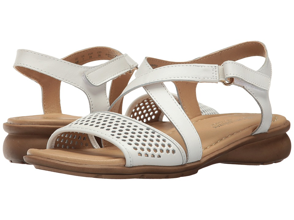 Naturalizer - Juniper (White Leather) Women's Dress Sandals