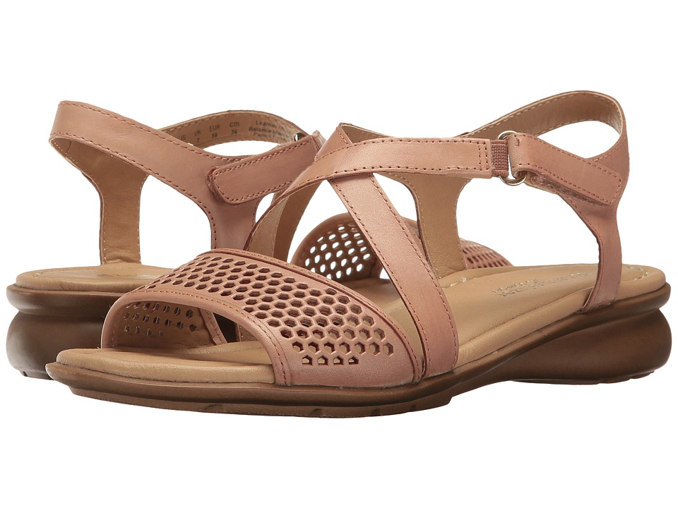 Naturalizer - Juniper (Ginger Snap Leather) Women's Dress Sandals