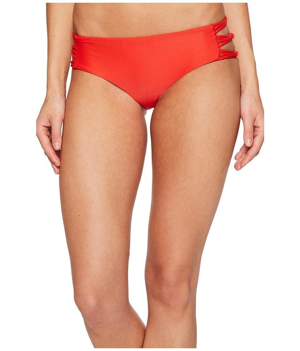 MIKOH SWIMWEAR - Barcelona Fuller Coverage Bottom (Freedom Red) Women's Swimwear