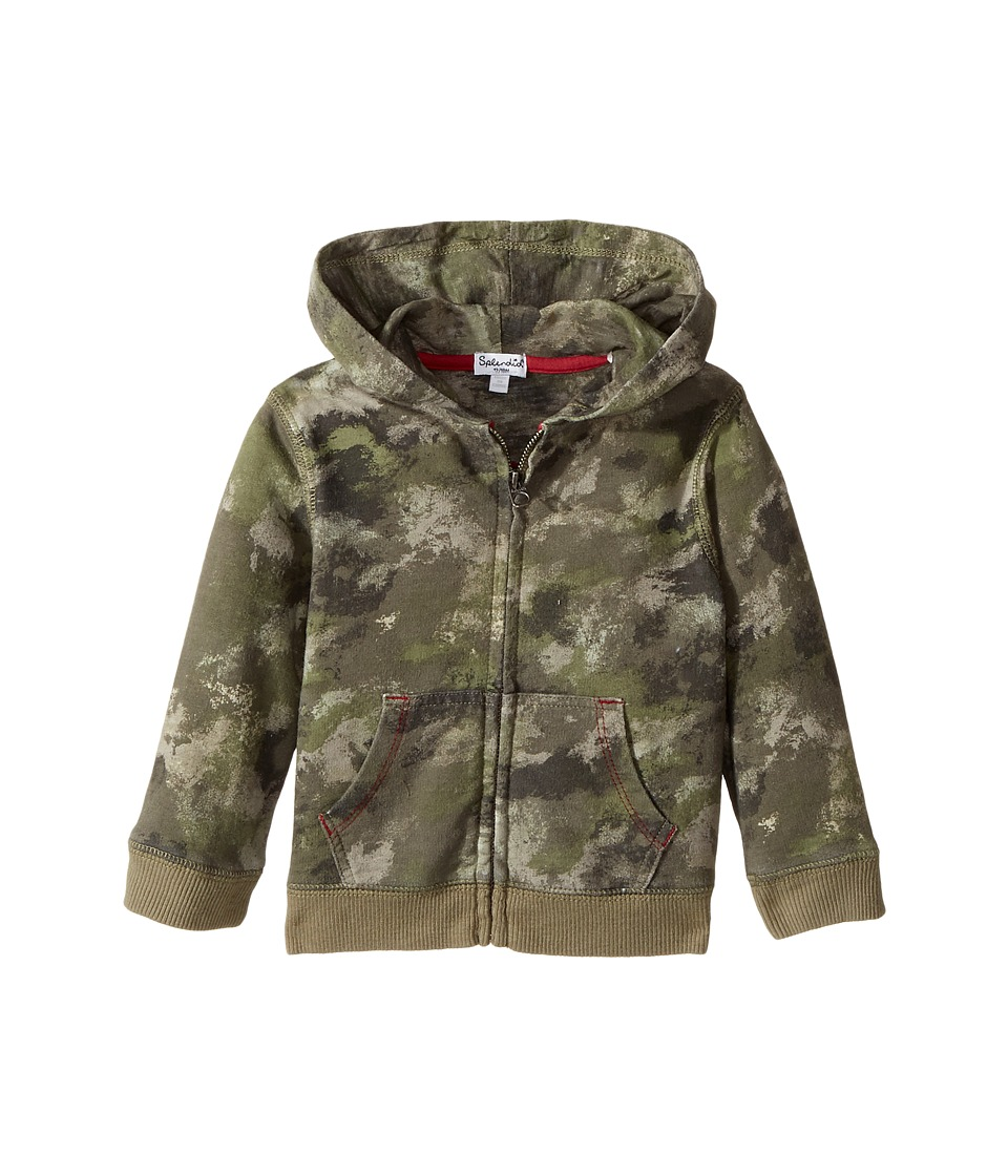 Splendid Littles - Camo Hoodie Zip-Up Jacket (Infant) (Camo) Boy's Jacket