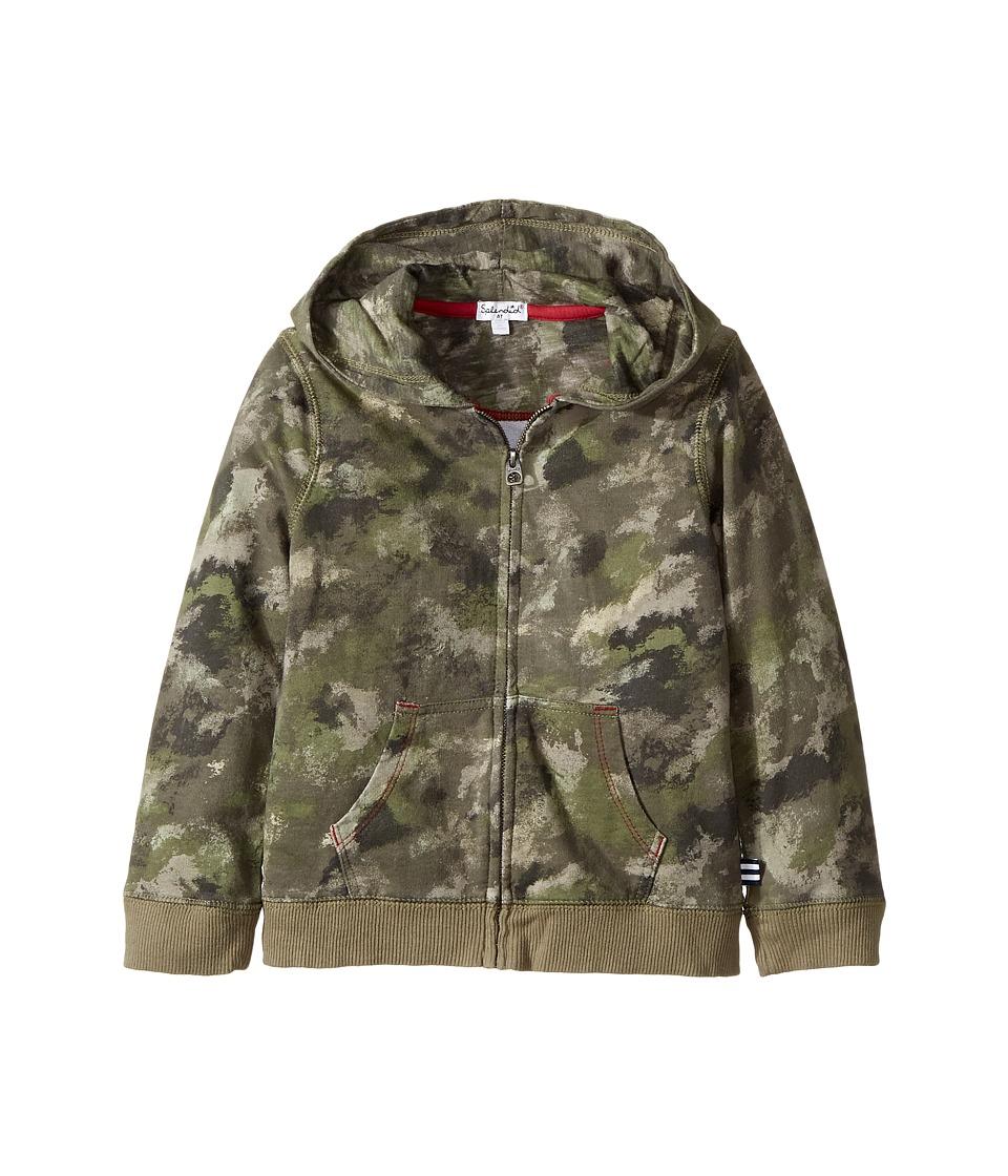 Splendid Littles - Camo Hoodie Zip-Up Jacket (Toddler) (Camo) Boy's Jacket