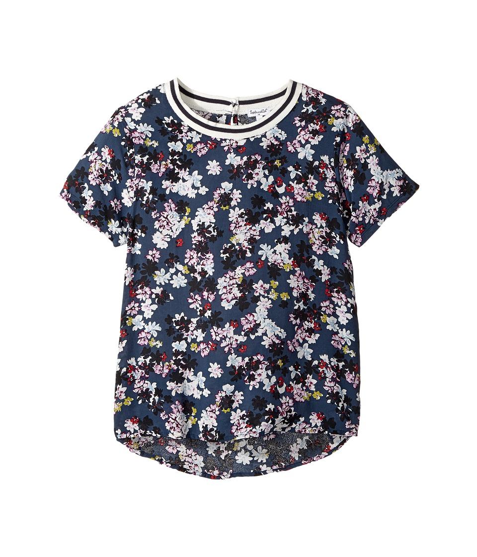 Splendid Littles - All Over Floral Printed Top (Big Kids) (Print) Girl's Clothing