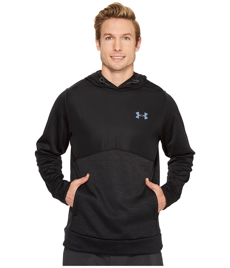 Under Armour - Storm Armour Fleece Woven Pullover (Black) Men's Clothing