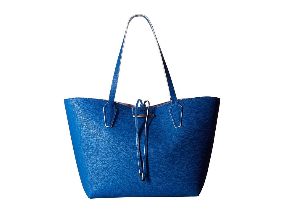 GUESS - Bobbi Inside Out Tote (Capri Multi) Tote Handbags