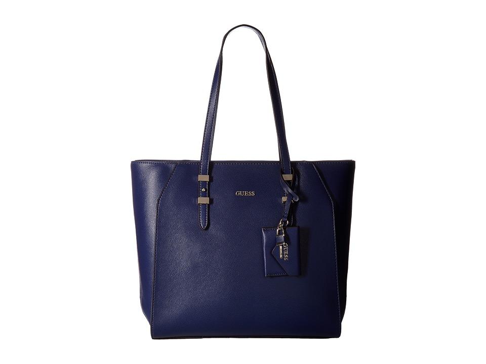 GUESS - Gia Tote (Sapphire) Tote Handbags
