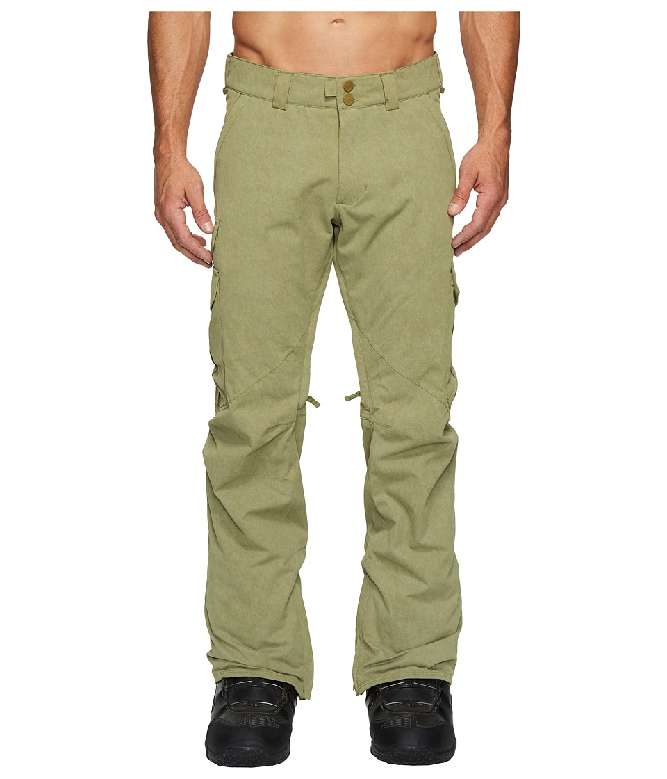 Burton Cargo Pant-Mid (Olive Branch Distress) Men