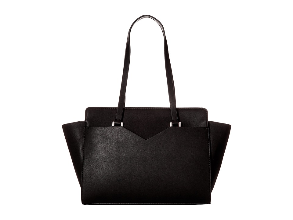 GUESS - Bryanna Satchel (Black) Satchel Handbags
