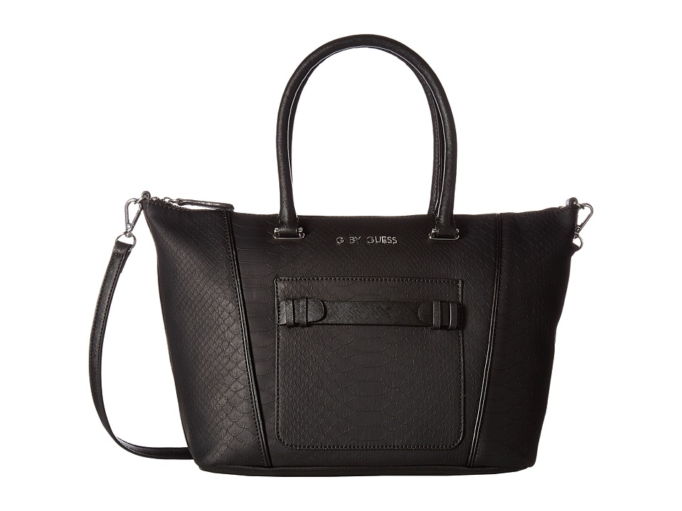 GUESS - Lake Satchel (Black) Satchel Handbags