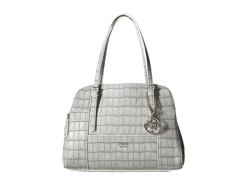 GUESS - Huntley Cali Satchel (Grey) Satchel Handbags