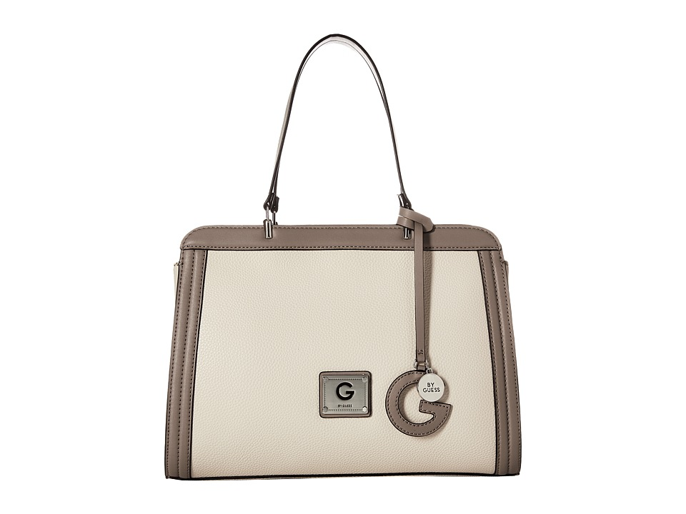GUESS - Pearson Satchel (Stone Multi) Satchel Handbags