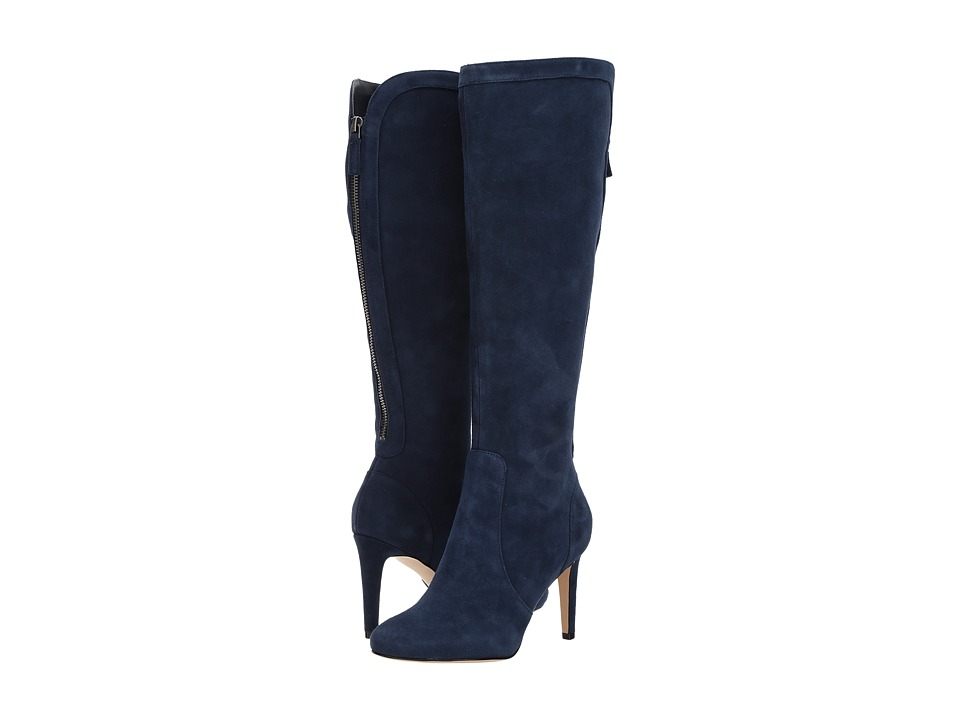 Nine West - Holdtight (Navy Suede) Women's Shoes