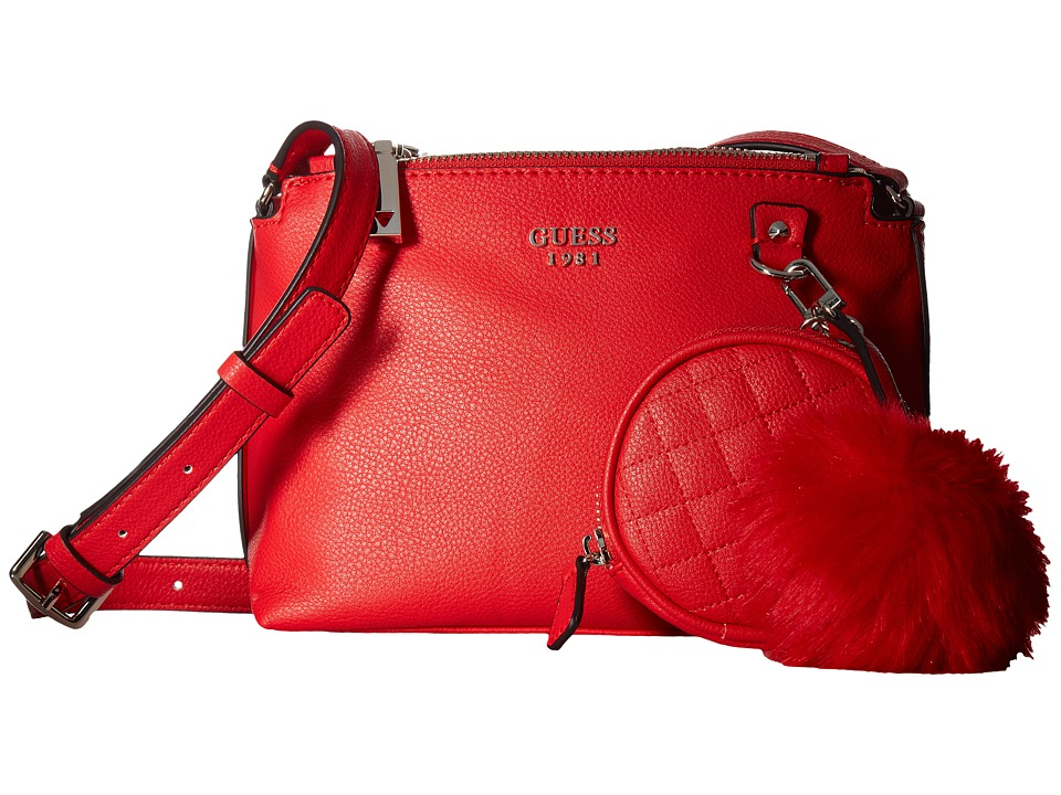 GUESS - Tenley Petite Status Crossbody (Red) Cross Body Handbags