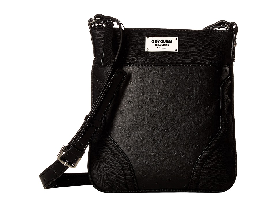 GUESS - Watch Me Mini Crossbody (Black) Cross Body Handbags