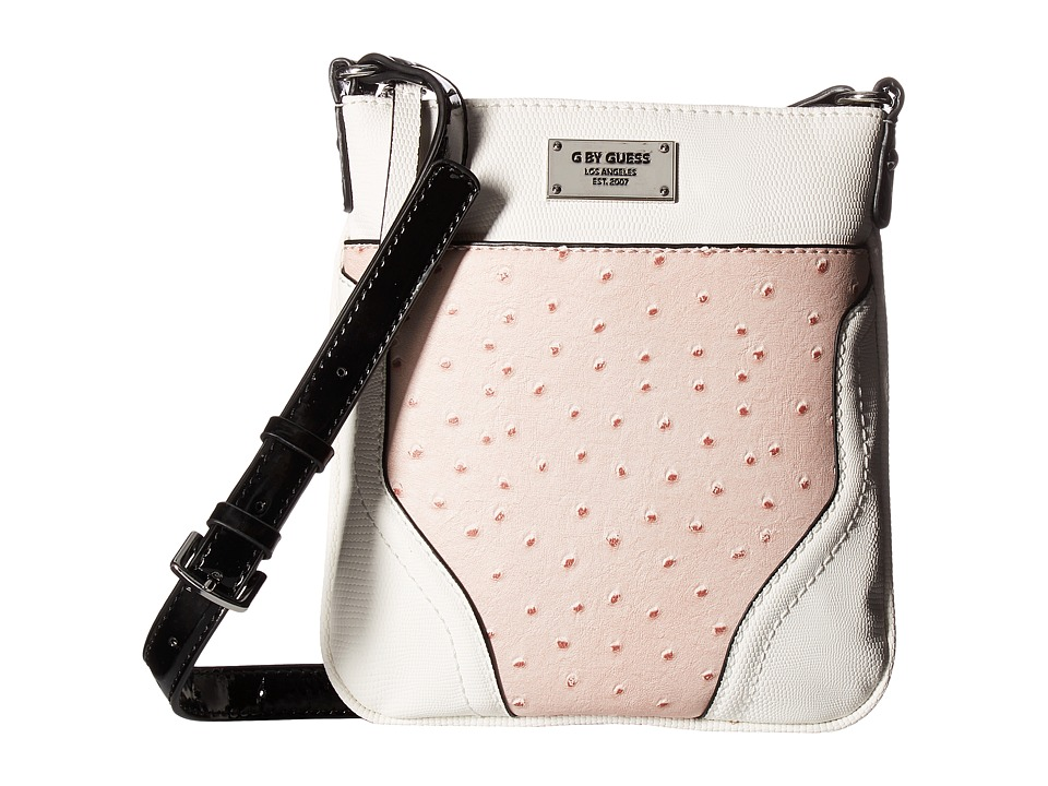 GUESS - Watch Me Mini Crossbody (Blush Multi) Cross Body Handbags