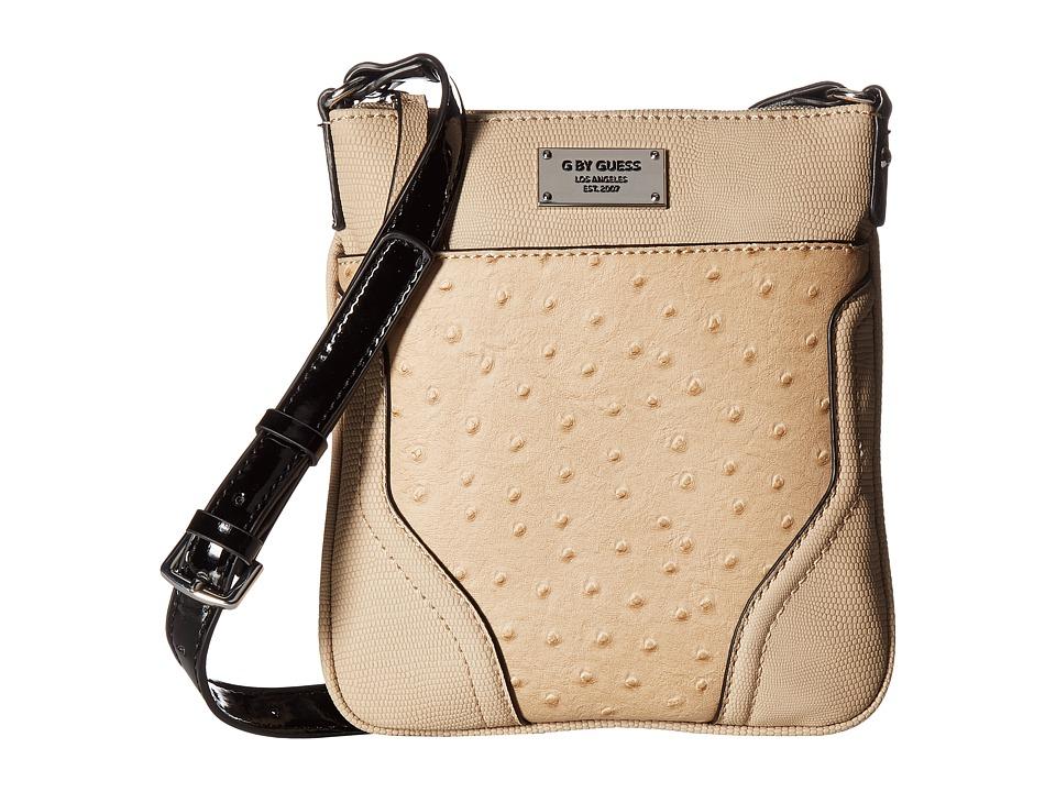 GUESS - Watch Me Mini Crossbody (Camel) Cross Body Handbags