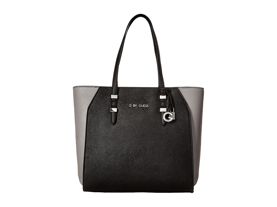 GUESS - Lourdes Carryall (Black Multi) Handbags