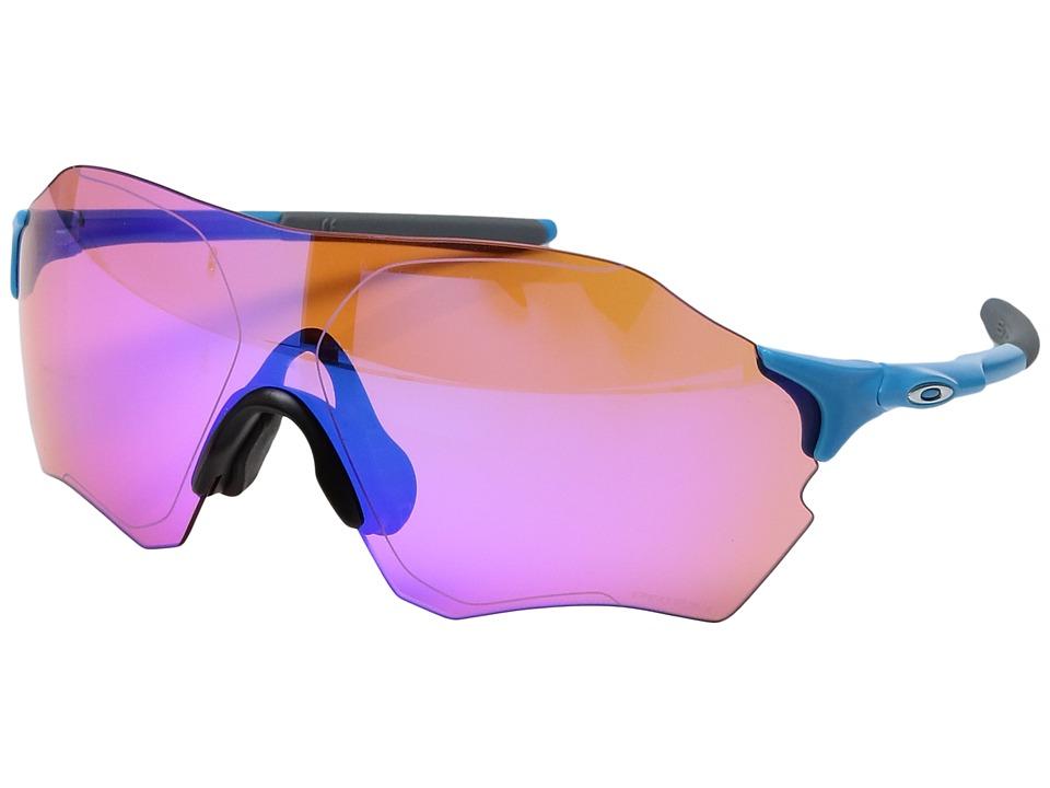 Oakley - (A) Evzero Range (Matte Sky) Sport Sunglasses
