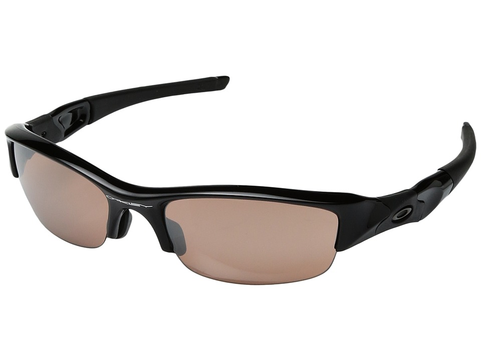 Oakley - (A) Flak Jacket (Black/Black Iridium) Sport Sunglasses