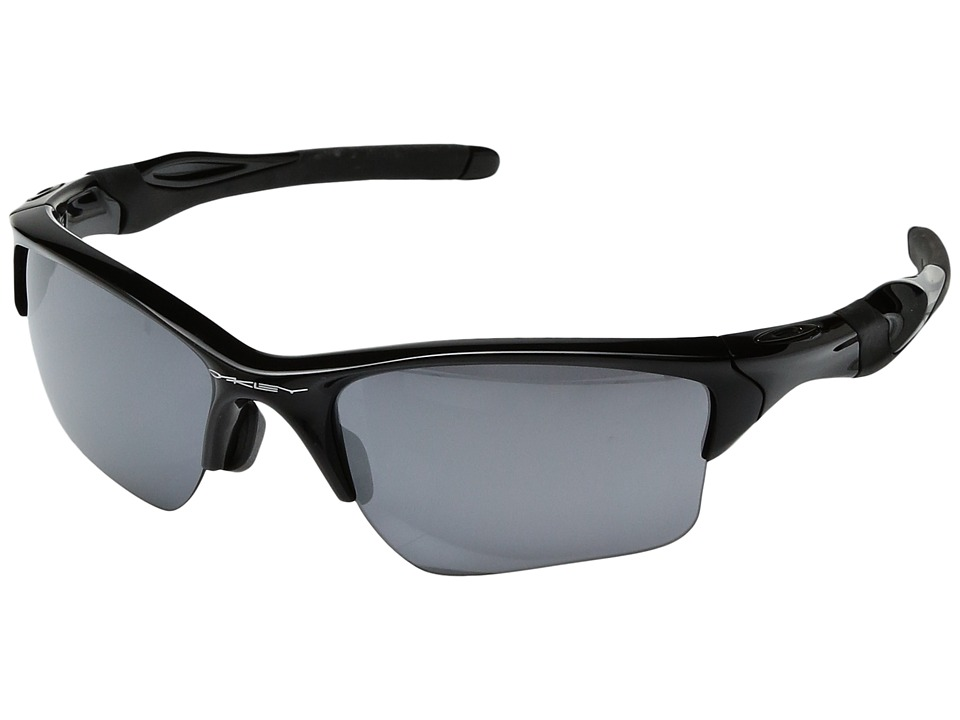 Oakley - (A) Half Jacket 2.0 XL (Black/Black Iridium) Sport Sunglasses