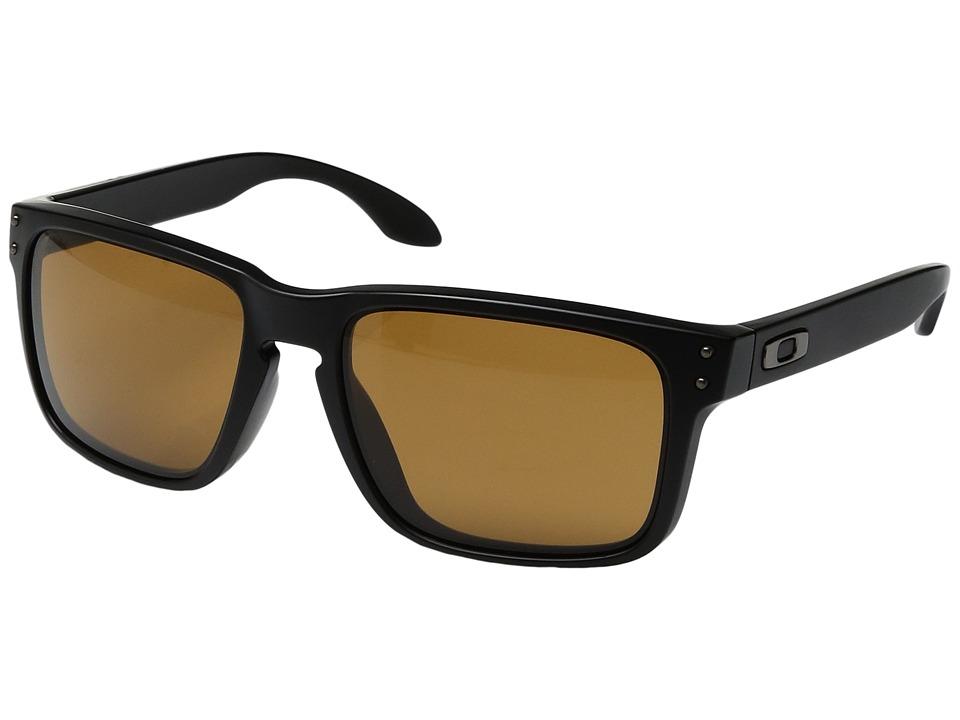 Oakley - (A) Holbrook (Matte Black/Bronze) Sport Sunglasses