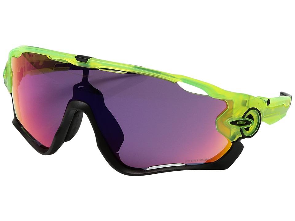 Oakley - (A) Jawbreaker (Uranium/Prizm Road) Sport Sunglasses