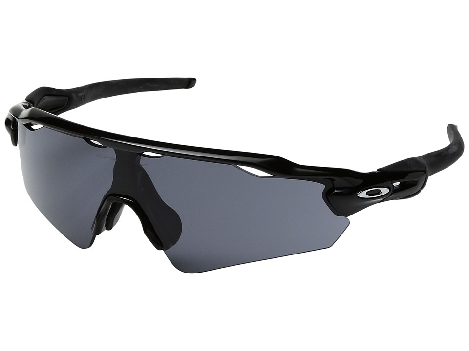 Oakley - (A) Radar EV Path (Black/Grey Polarized) Sport Sunglasses